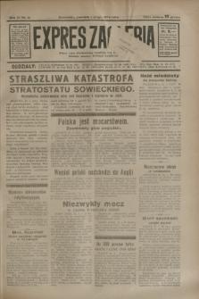 Expres Zagłębia : jedyny organ demokratyczny niezależny woj. kieleckiego. R.9, nr 31 (1 lutego 1934)