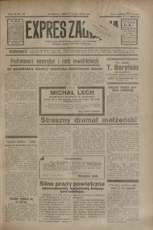 Expres Zagłębia : jedyny organ demokratyczny niezależny woj. kieleckiego. R.9, nr 32 (2 lutego 1934)
