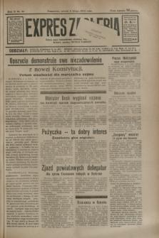 Expres Zagłębia : jedyny organ demokratyczny niezależny woj. kieleckiego. R.9, nr 36 (6 lutego 1934)