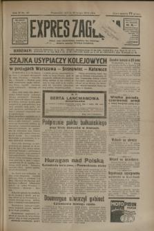 Expres Zagłębia : jedyny organ demokratyczny niezależny woj. kieleckiego. R.9, nr 40 (10 lutego 1934)