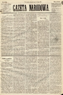 Gazeta Narodowa. 1874, nr172
