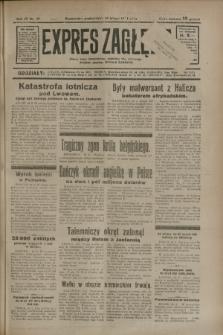 Expres Zagłębia : jedyny organ demokratyczny niezależny woj. kieleckiego. R.9, nr 49 (19 lutego 1934)