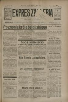 Expres Zagłębia : jedyny organ demokratyczny niezależny woj. kieleckiego. R.9, nr 50 (20 lutego 1934)