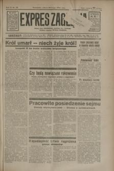 Expres Zagłębia : jedyny organ demokratyczny niezależny woj. kieleckiego. R.9, nr 54 (24 lutego 1934)