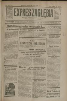 Expres Zagłębia : jedyny organ demokratyczny niezależny woj. kieleckiego. R.9, nr 55 (25 lutego 1934)