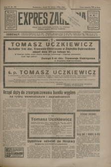 Expres Zagłębia : jedyny organ demokratyczny niezależny woj. kieleckiego. R.9, nr 58 (28 lutego 1934)