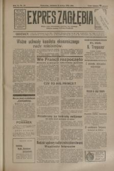 Expres Zagłębia : jedyny organ demokratyczny niezależny woj. kieleckiego. R.9, nr 76 (18 marca 1934)
