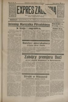 Expres Zagłębia : jedyny organ demokratyczny niezależny woj. kieleckiego. R.9, nr 78 (20 marca 1934)