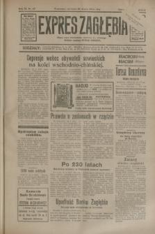 Expres Zagłębia : jedyny organ demokratyczny niezależny woj. kieleckiego. R.9, nr 83 (25 marca 1934)