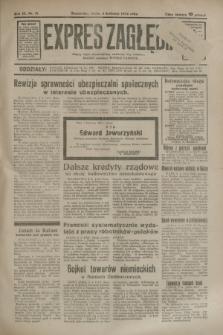 Expres Zagłębia : jedyny organ demokratyczny niezależny woj. kieleckiego. R.9, nr 91 (4 kwietnia 1934)