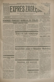 Expres Zagłębia : jedyny organ demokratyczny niezależny woj. kieleckiego. R.9, nr 94 (7 kwietnia 1934)