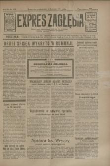 Expres Zagłębia : jedyny organ demokratyczny niezależny woj. kieleckiego. R.9, nr 103 (16 kwietnia 1934)