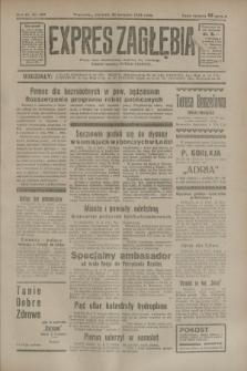 Expres Zagłębia : jedyny organ demokratyczny niezależny woj. kieleckiego. R.9, nr 109 (22 kwietnia 1934)
