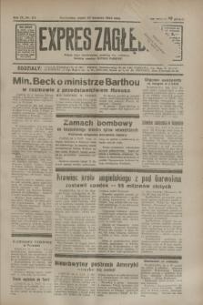 Expres Zagłębia : jedyny organ demokratyczny niezależny woj. kieleckiego. R.9, nr 114 (27 kwietnia 1934)