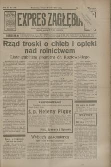 Expres Zagłębia : jedyny organ demokratyczny niezależny woj. kieleckiego. R.9, nr 132 (15 maja 1934)