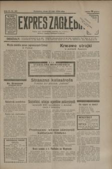 Expres Zagłębia : jedyny organ demokratyczny niezależny woj. kieleckiego. R.9, nr 139 (23 maja 1934)