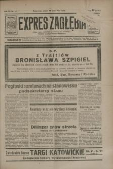 Expres Zagłębia : jedyny organ demokratyczny niezależny woj. kieleckiego. R.9, nr 142 (26 maja 1934)