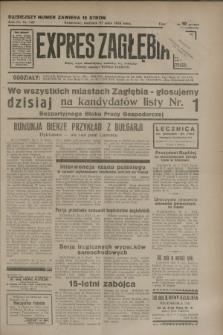 Expres Zagłębia : jedyny organ demokratyczny niezależny woj. kieleckiego. R.9, nr 143 (27 maja 1934)