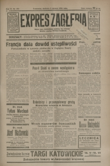 Expres Zagłębia : jedyny organ demokratyczny niezależny woj. kieleckiego. R.9, nr 150 (3 czerwca 1934)