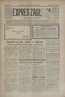 Expres Zagłębia : jedyny organ demokratyczny niezależny woj. kieleckiego. R.9, nr 171 (24 czerwca 1934)