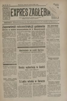 Expres Zagłębia : jedyny organ demokratyczny niezależny woj. kieleckiego. R.9, nr 174 (27 czerwca 1934)