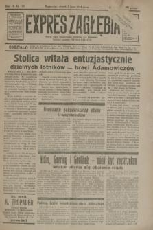 Expres Zagłębia : jedyny organ demokratyczny niezależny woj. kieleckiego. R.9, nr 179 (3 lipca 1934)