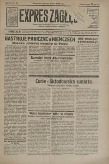 Expres Zagłębia : jedyny organ demokratyczny niezależny woj. kieleckiego. R.9, nr 181 (5 lipca 1934)