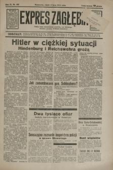 Expres Zagłębia : jedyny organ demokratyczny niezależny woj. kieleckiego. R.9, nr 182 (6 lipca 1934)