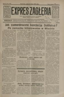 Expres Zagłębia : jedyny organ demokratyczny niezależny woj. kieleckiego. R.9, nr 203 (27 lipca 1934)