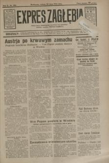 Expres Zagłębia : jedyny organ demokratyczny niezależny woj. kieleckiego. R.9, nr 204 (28 lipca 1934)