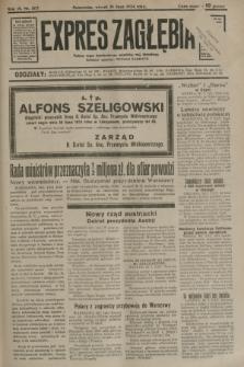 Expres Zagłębia : jedyny organ demokratyczny niezależny woj. kieleckiego. R.9, nr 207 (31 lipca 1934)