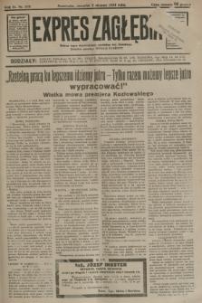 Expres Zagłębia : jedyny organ demokratyczny niezależny woj. kieleckiego. R.9, nr 209 (2 sierpnia 1934)