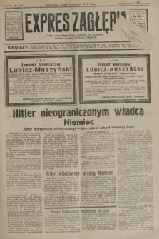 Expres Zagłębia : jedyny organ demokratyczny niezależny woj. kieleckiego. R.9, nr 210 (3 sierpnia 1934)