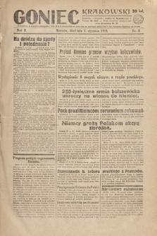 Goniec Krakowski. 1919, nr5