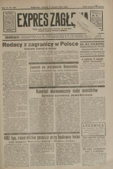 Expres Zagłębia : jedyny organ demokratyczny niezależny woj. kieleckiego. R.9, nr 212 (5 sierpnia 1934)