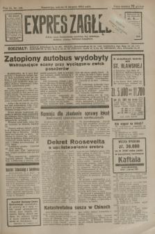 Expres Zagłębia : jedyny organ demokratyczny niezależny woj. kieleckiego. R.9, nr 218 (11 sierpnia 1934)