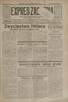 Expres Zagłębia : jedyny organ demokratyczny niezależny woj. kieleckiego. R.9, nr 228 (21 sierpnia 1934)