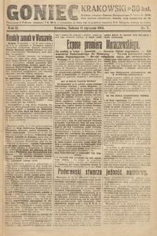Goniec Krakowski. 1919, nr7