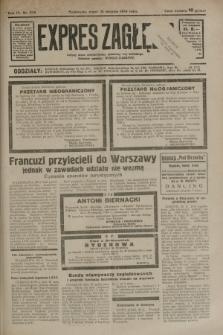 Expres Zagłębia : jedyny organ demokratyczny niezależny woj. kieleckiego. R.9, nr 238 (31 sierpnia 1934)