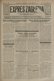 Expres Zagłębia : jedyny organ demokratyczny niezależny woj. kieleckiego. R.9, nr 241 (3 września 1934)