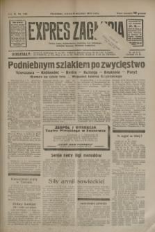 Expres Zagłębia : jedyny organ demokratyczny niezależny woj. kieleckiego. R.9, nr 246 (8 września 1934)
