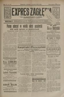 Expres Zagłębia : jedyny organ demokratyczny niezależny woj. kieleckiego. R.9, nr 247 (9 września 1934)