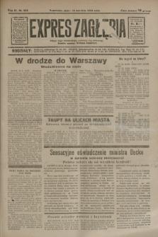 Expres Zagłębia : jedyny organ demokratyczny niezależny woj. kieleckiego. R.9, nr 252 (14 września 1934)