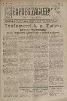 Expres Zagłębia : jedyny organ demokratyczny niezależny woj. kieleckiego. R.9, nr 255 (17 września 1934)