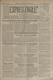 Expres Zagłębia : jedyny organ demokratyczny niezależny woj. kieleckiego. R.9, nr 256 (18 września 1934)