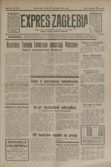 Expres Zagłębia : jedyny organ demokratyczny niezależny woj. kieleckiego. R.9, nr 257 (19 września 1934)