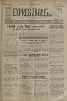 Expres Zagłębia : jedyny organ demokratyczny niezależny woj. kieleckiego. R.9, nr 258 (20 września 1934)