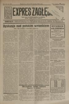 Expres Zagłębia : jedyny organ demokratyczny niezależny woj. kieleckiego. R.9, nr 260 (22 września 1934)