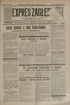 Expres Zagłębia : jedyny organ demokratyczny niezależny woj. kieleckiego. R.9, nr 262 (24 września 1934)