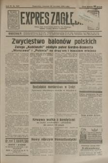 Expres Zagłębia : jedyny organ demokratyczny niezależny woj. kieleckiego. R.9, nr 265 (27 września 1934)